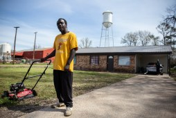 """Cody Washington is photographed in Tchula, Miss. during the Mississippi Chapter of Poor People's Campaign poverty tour Saturday, March 23, 2019. """"Poverty is a serious issue here, and something needs to change soon,"""" said Washington."""