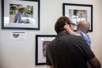 """""""Local Lenss by Eric Shelton"""" Photo Expo in Jackson at Ferriss and Company."""