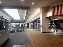 """Renovations continue at Metrocenter Mall in Jackson in preparation for a """"soft opening"""" of a portion of the upper level later this month."""