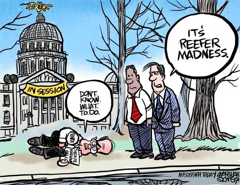 Medical Marijuana slows the Senate to a crawl.