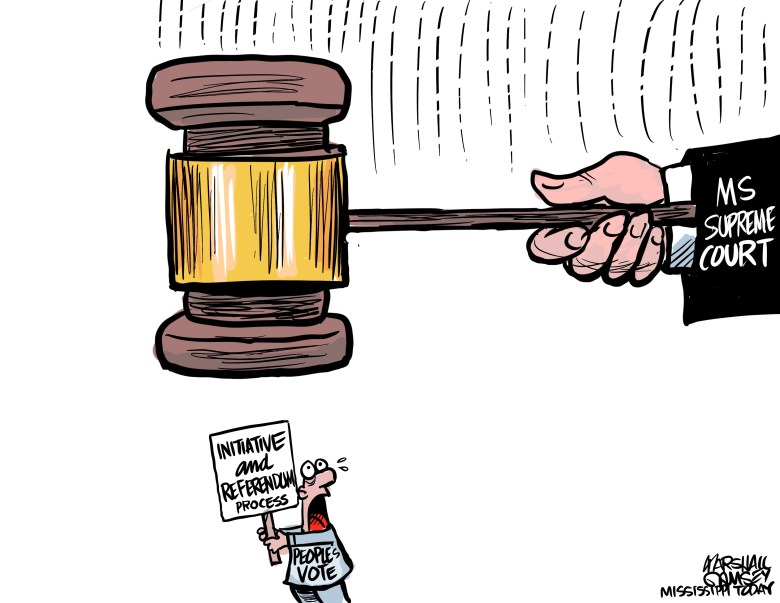Mississippi Supreme Court overturns medical marijuana Initiative 65 and puts the initiative process in peril.