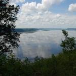 View from bluffs near Lynxville