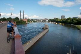Minneapolis, Minnesota from the Stone Arch Bridge