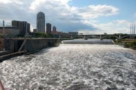 St. Anthony Falls; Minneapolis, Minnesota