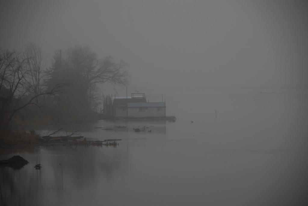 Boat House near Stoddard, WI