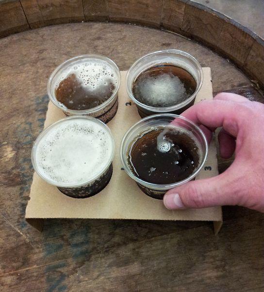 Beer sampler; Minnesota State Fair; St. Paul, MN