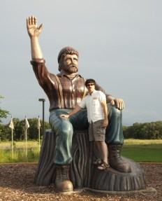 Paul at Brainerd Lakes Visitor Center