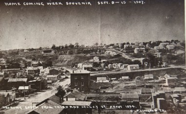 Burlington, around 1864 (courtesy of Des Moines County Hx Soc)