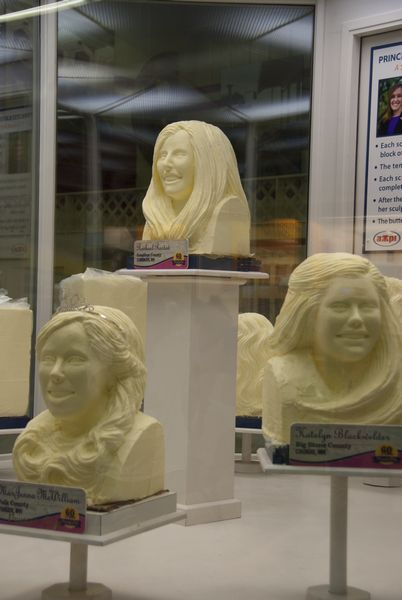 Butter sculptures; Minnesota State Fair; St. Paul, MN