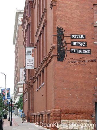 River Music Experience; Davenport, IA