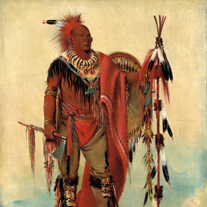 Keokuk, by George Caitlin