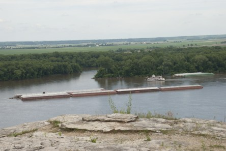 View of the Mississippi River from Lovers Leap