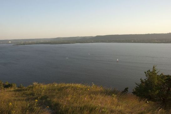 Lake Pepin from Maiden Rock Bluff