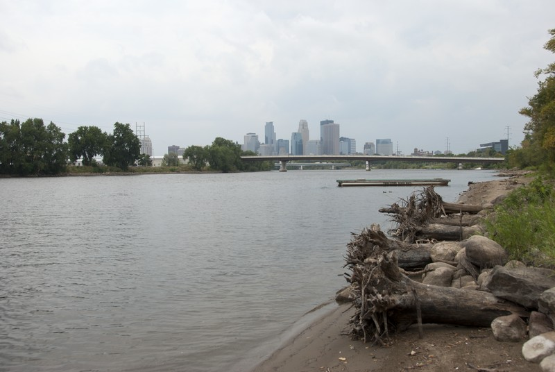 Mississippi River at Minneapolis