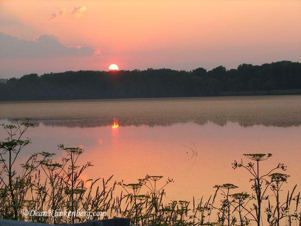 Sunset; Sabula, IA