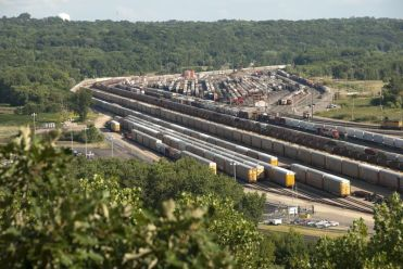 St. Paul, MN railyards