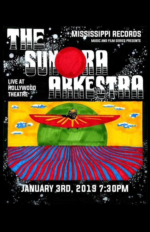 The Sun Ra Arkestra Live 1/3/19 Poster Version 1
