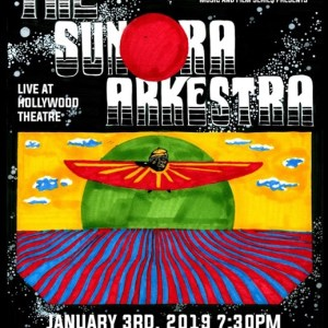 The Sun Ra Arkestra Live 1/3/19 Poster Version 1