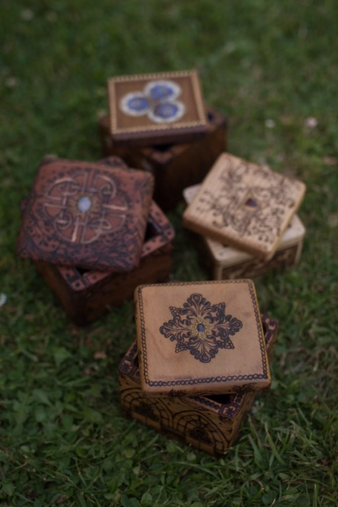 Coffrets à bijoux massifs en bois fabriqué en normandie
