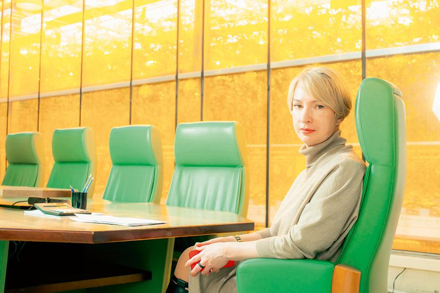 Оксана Лицингер, Генеральный директор агрохолдинга «Чурилово»