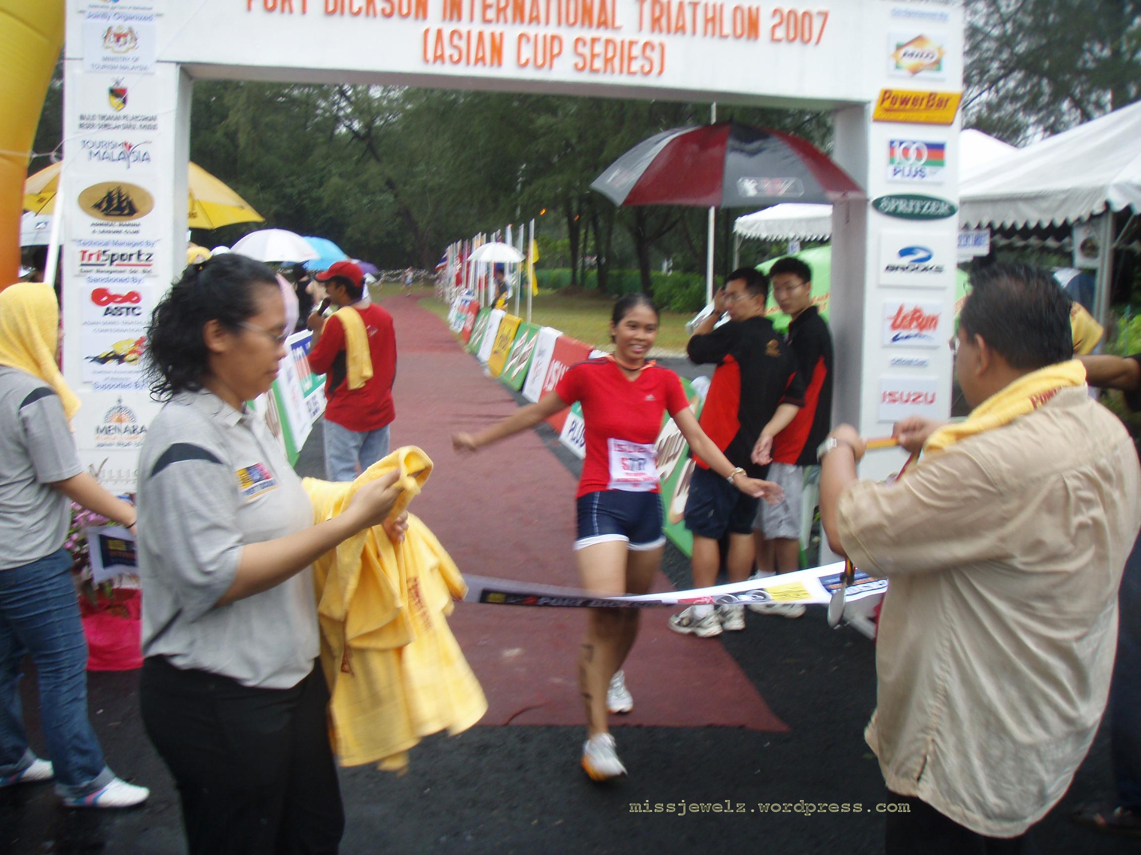 Second sprint tri finish !1:12