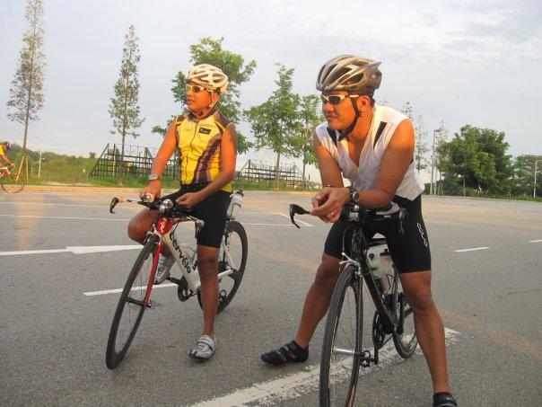 Fellow triathletes..