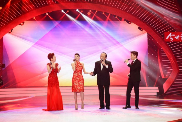 Miss Katalin singing Spring Festival 2015