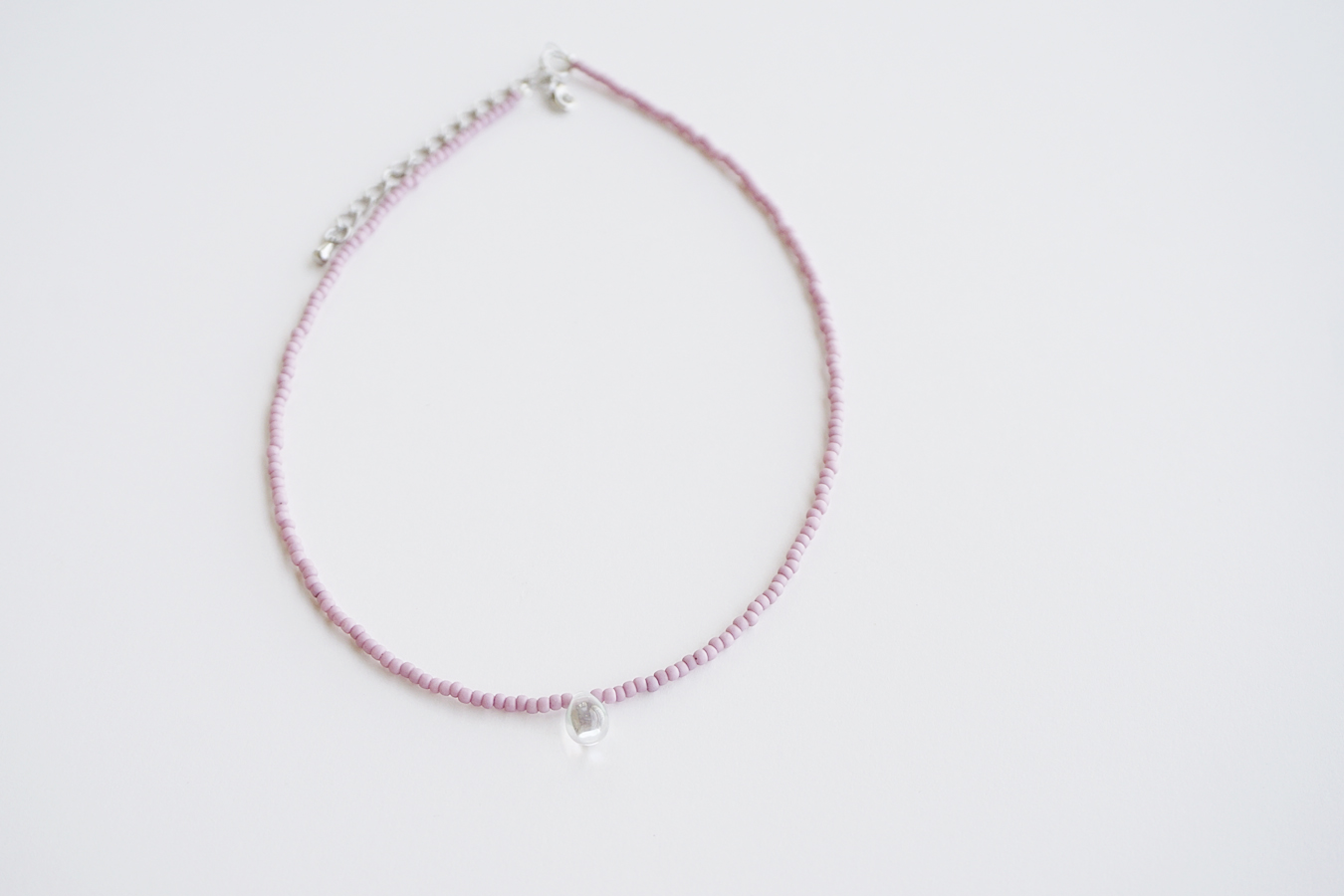 pendant products silver necklace pink crystal panhandle jewelry product ribbon image