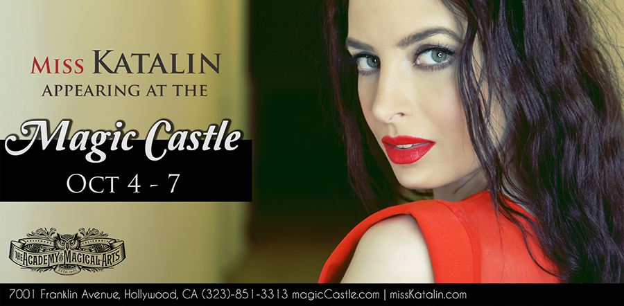 I'm coming back to the Magic Castle – Miss Katalin