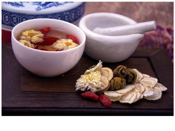 Traditioneller chinesischer Kräutertee // Quelle: Pangmen