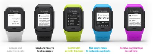 Kreyos Smart Watches / Quelle:www.kreyos.com