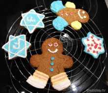 Paleo Lebkuchen mit Zuckerguss Glutenfrei