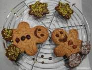 Paleo Lebkuchen Glutenfrei Männchen und Sterne