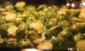 Cavolini al forno (Paleo Rosenkohl)