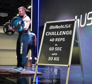 Challenge: 40 Reps in 60 Sek mit 30Kg. DONT BE A HALF-REPPER ;-)
