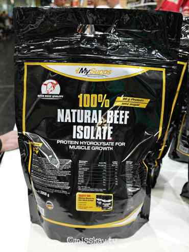 MySupps 100% Natural Beef Isolate