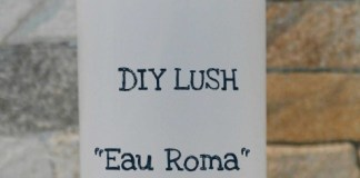 DIY Lush Eau Roma Water