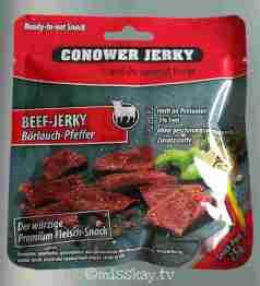 Conower Jerky Beef Bärlauch-Pfeffer