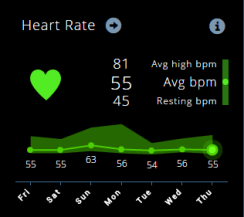 Heart Rate Emfit QS