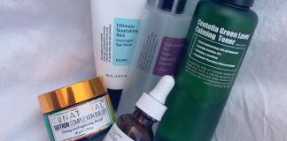 COSRX, Purito, Conatural, The Ordinary, Skincare Routine