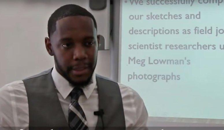 Un prof cool ! Le handshake de Mr White