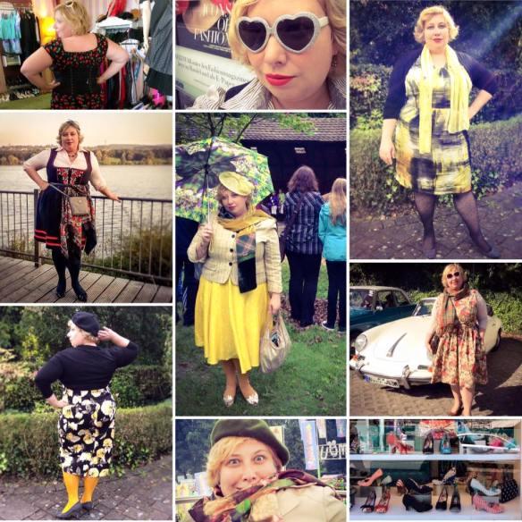 one year Miss Kittenheel | vintage |plus size | style |