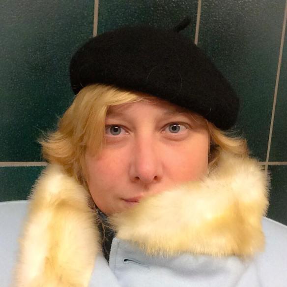 Miss KIttenheel vintage plussize style Trixie Coat