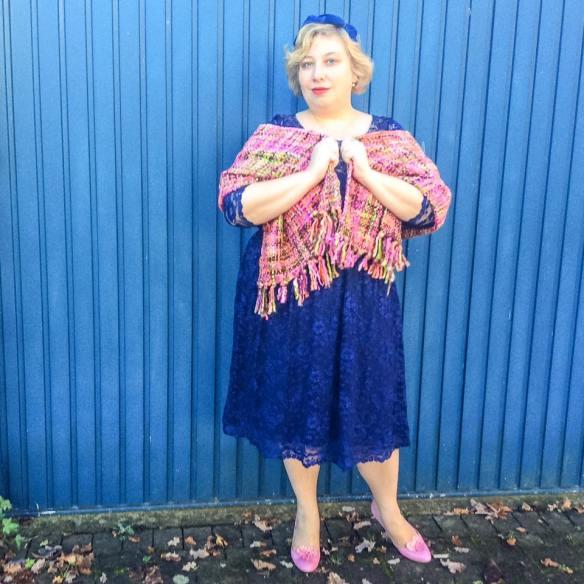 Miss Kittenheel vintage plussize style GermanCurves 2015 NYE Kiyonna Lace