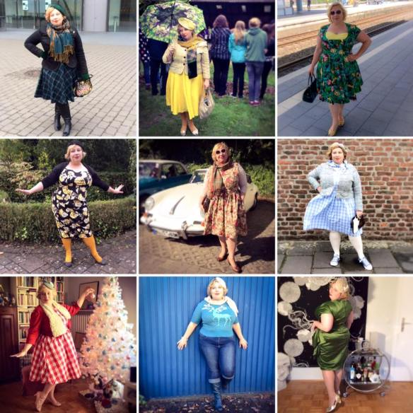 MissKittenheel plussize vintage style best outfits 2015