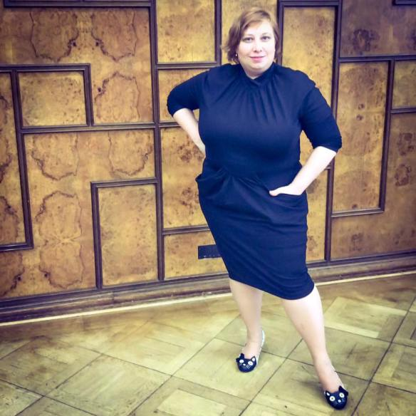 misskittenheel vintage curvy plussize  beth ditto collection lola black dress council 03
