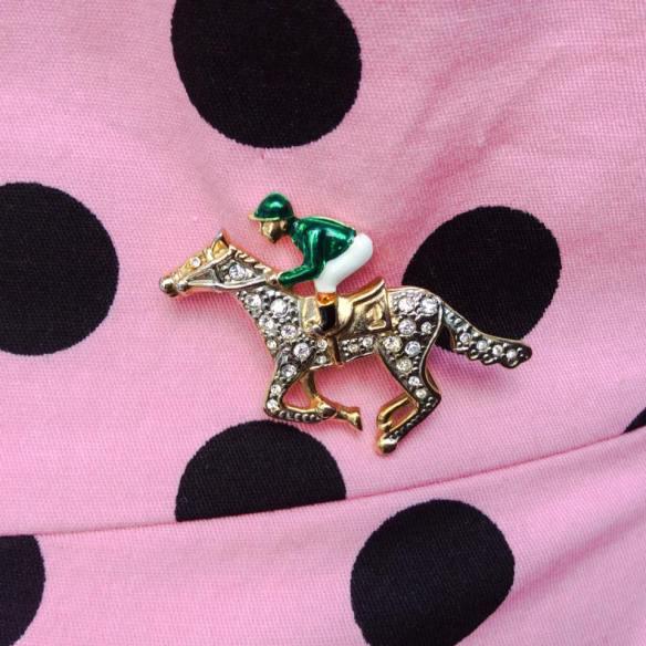 misskittenheel vintage curvy plussize pink polkadots 01