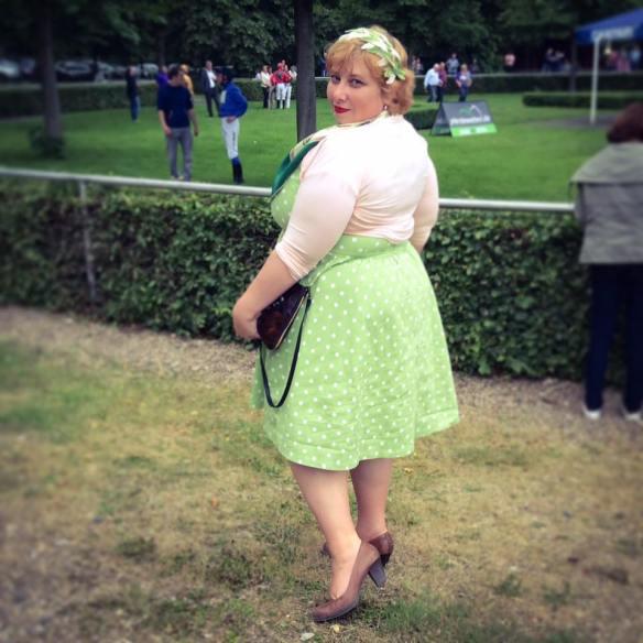 misskittenheel vintage plussize pinup ladiesday 2016 rennclub krefeld galopprennen 12