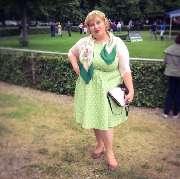 misskittenheel vintage plussize pinup ladiesday 2016 rennclub krefeld galopprennen 13