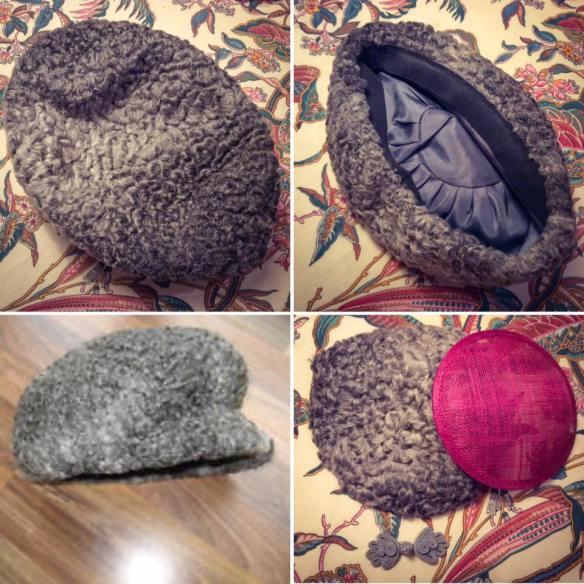 misskittenheel-vintage-plussize-diyyourcloset-guiltydressing-fur-fascinator-hat-persian-lamb-atrakhan-01